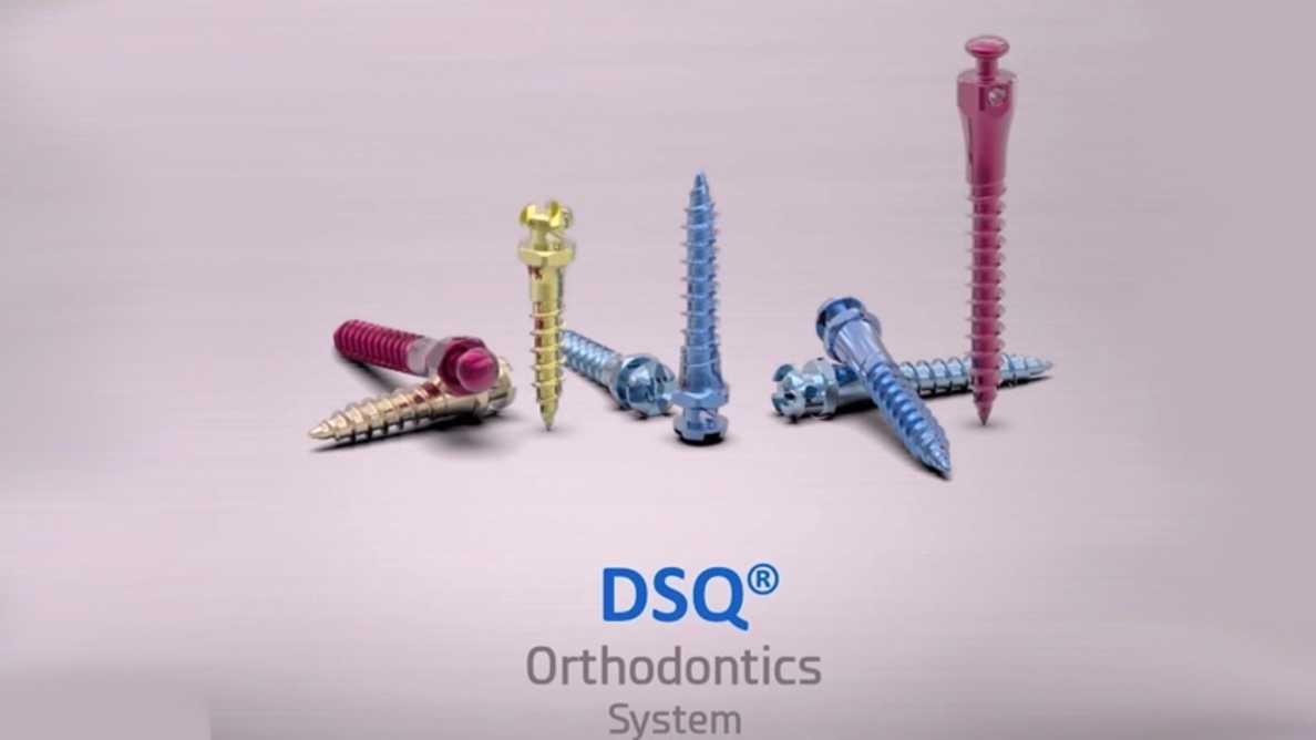 Nuevos Microimplantes para Ortodoncia DSQ-Ziacom