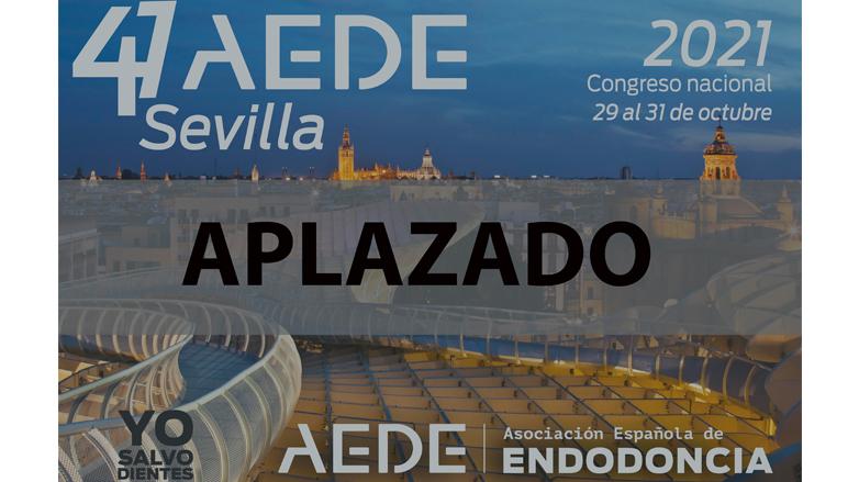 AEDE aplaza el Congreso presencial de Sevilla
