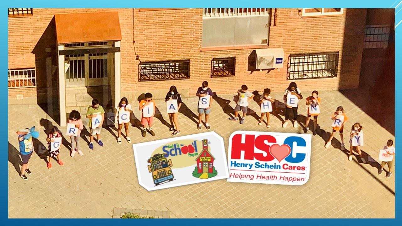 """Henry Schein colabora en """"la vuelta al cole"""" con el fin de ayudar a miles de estudiantes"""