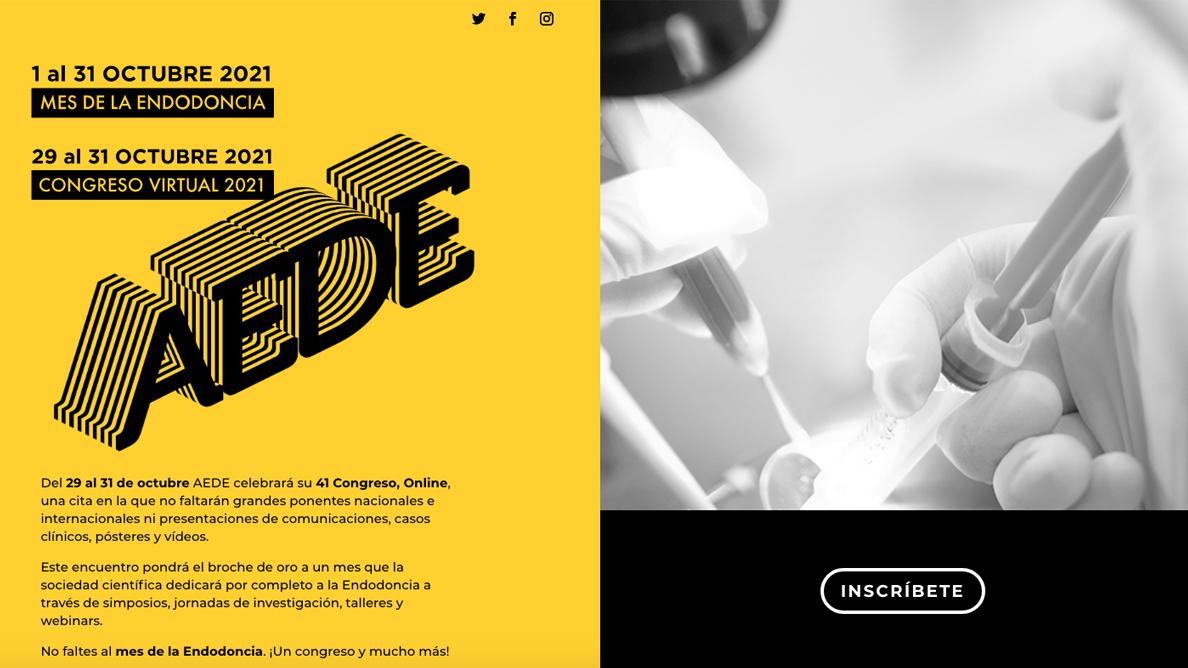 El 41 Congreso online de AEDE pondrá el broche de oro al EndoMes